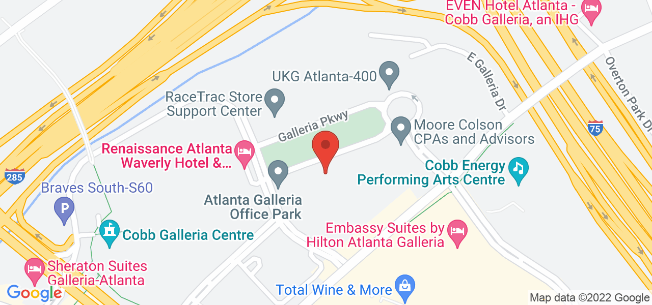 100 Galleria Pky SE, Atlanta, GA 30339