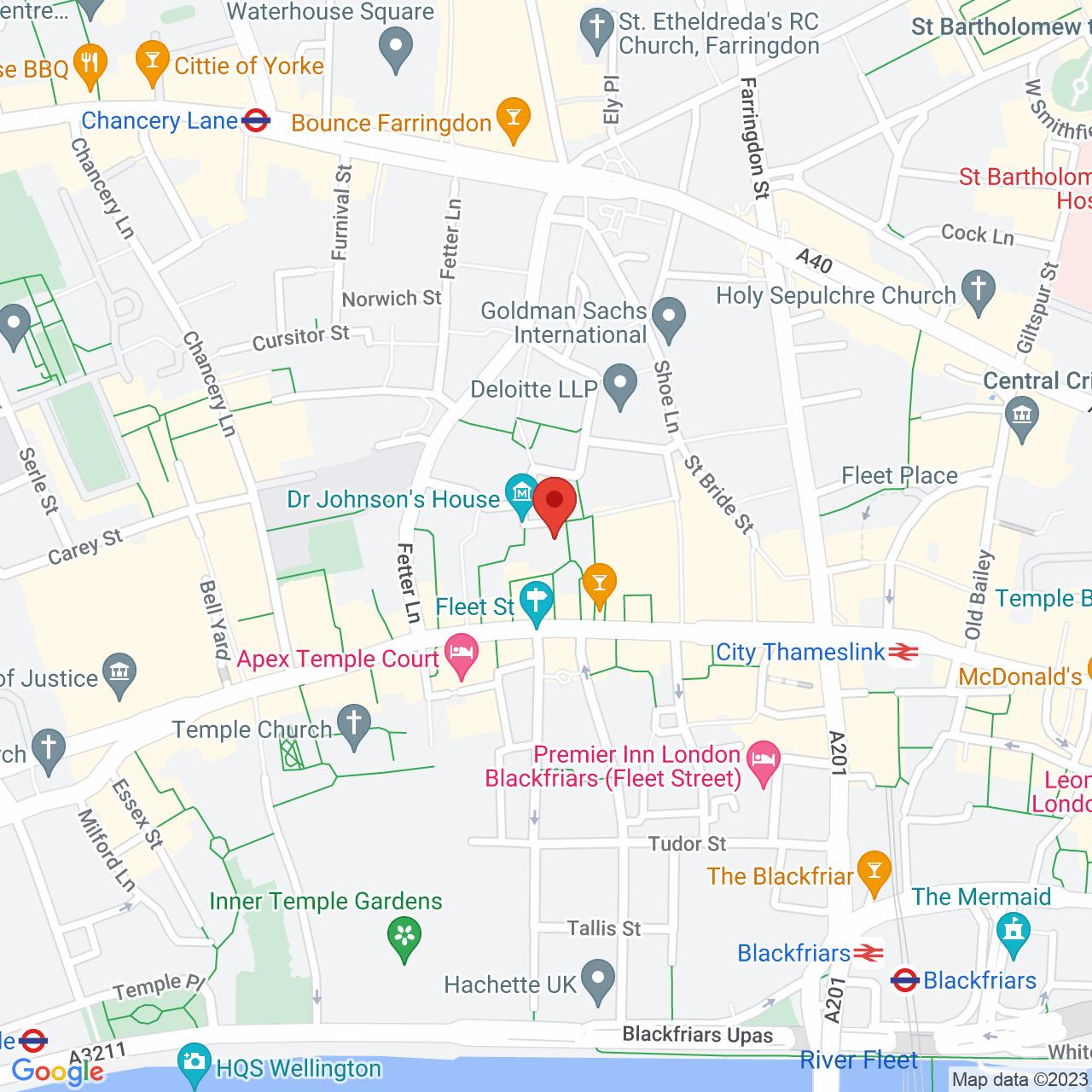 12 Gough Square, London,  EC4A 3DW, United Kingdom