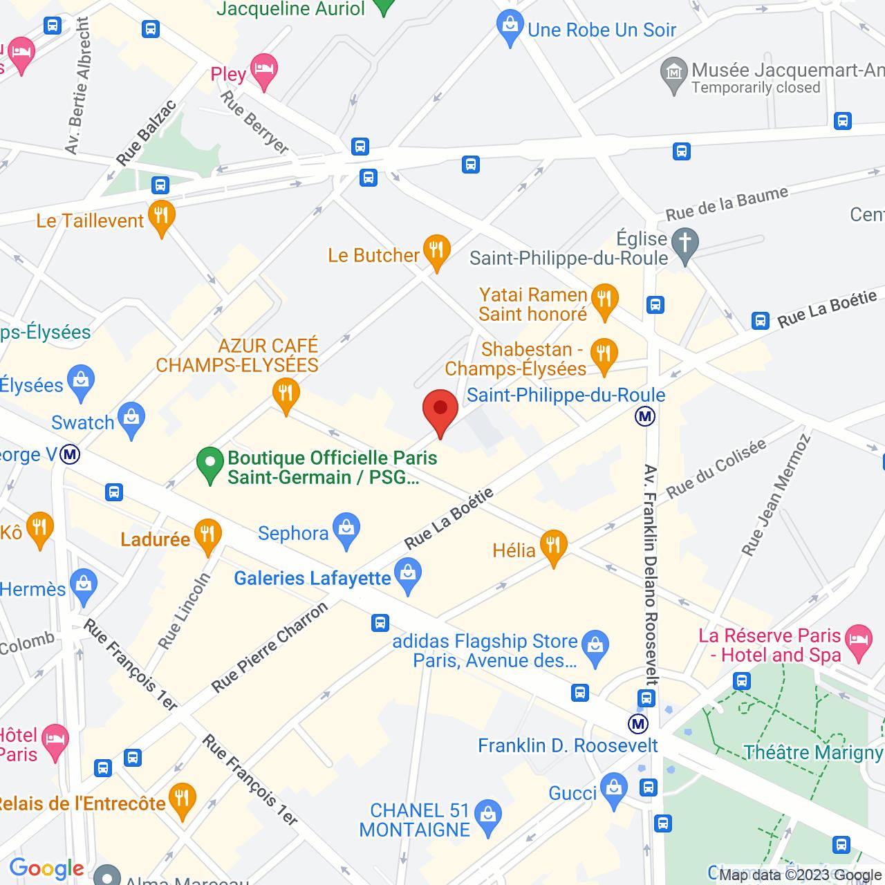 4 rue Paul Baudry, F-75008 Paris, France