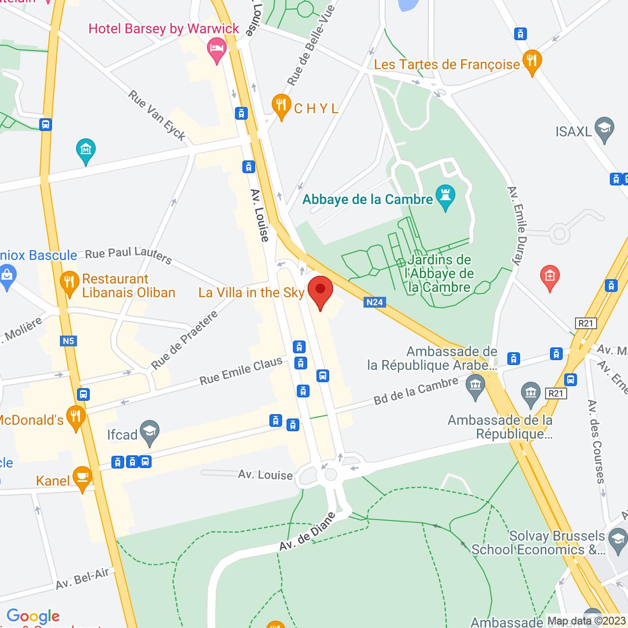 480 Avenue Louise, 18th floor - IT Tower, 1050 Brussels, Belgium