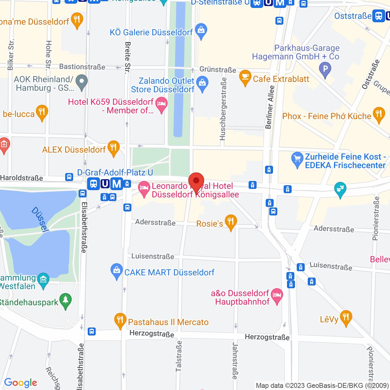Königsallee 98a, 40215 Düsseldorf, Germany