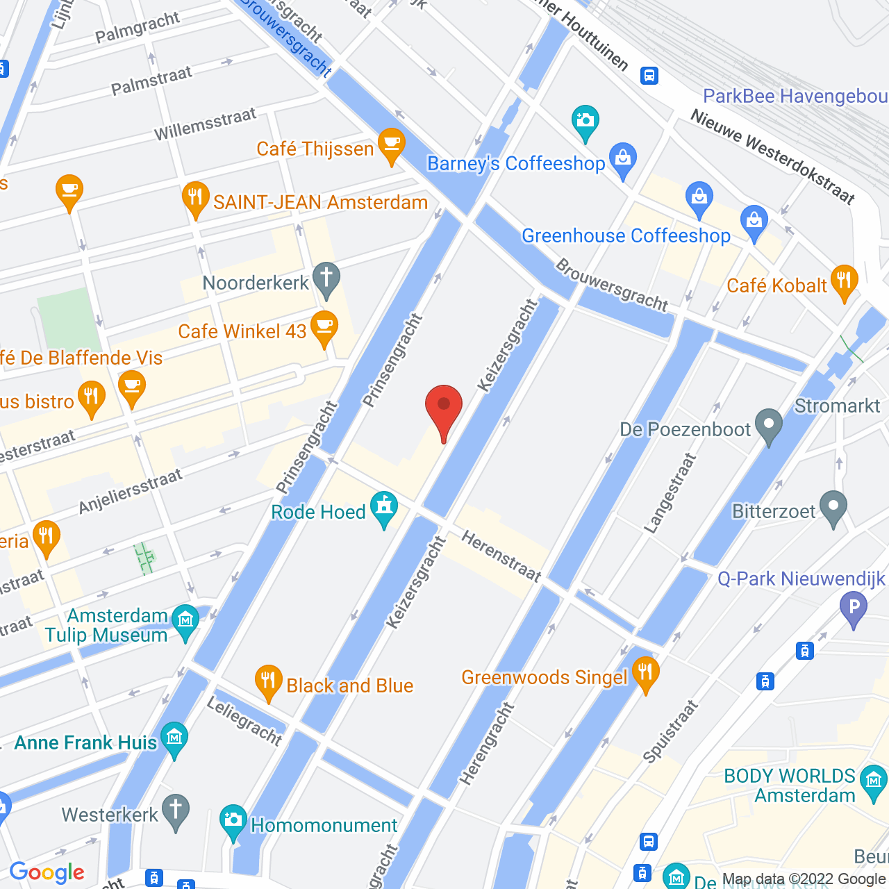 Keizersgracht 62-64, 1015 CS Amsterdam, Netherlands