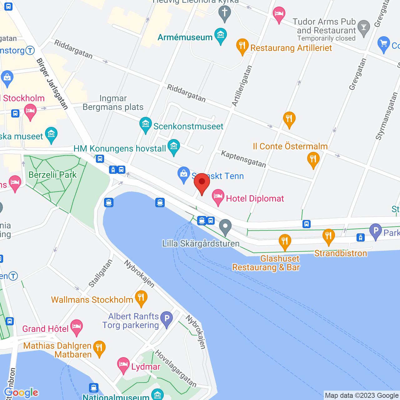 Strandvägen 7A, 114 51 Stockholm, Sweden