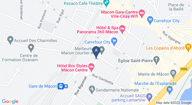 Centre de Test psychotechnique au 82 Rue Victor Hugo, 71000 Mâcon