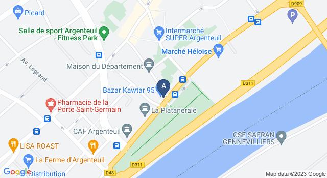 Centre de Test psychotechnique au 82 Boulevard Héloïse, 95100 Argenteuil