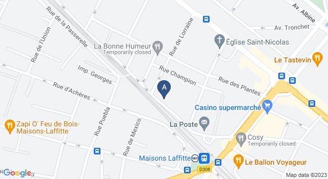 Centre de Test psychotechnique au 44 Rue Jean Mermoz, 78600 Maisons-Laffitte