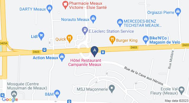 Centre de Test psychotechnique au 1 Rue de la Cave aux Hérons, 77100 Meaux