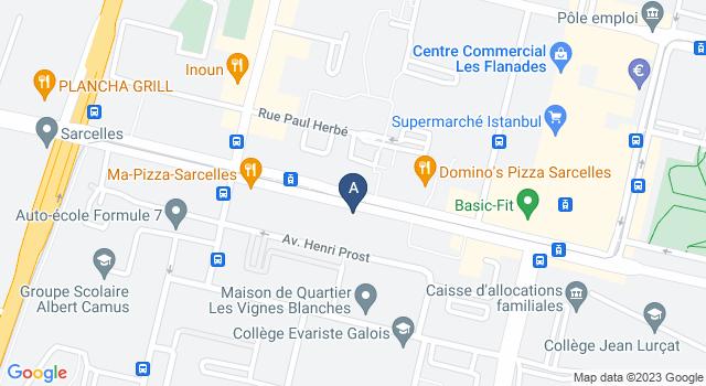 Centre de Test psychotechnique au 14 Avenue du 8 Mai 1945, 95200 Sarcelles