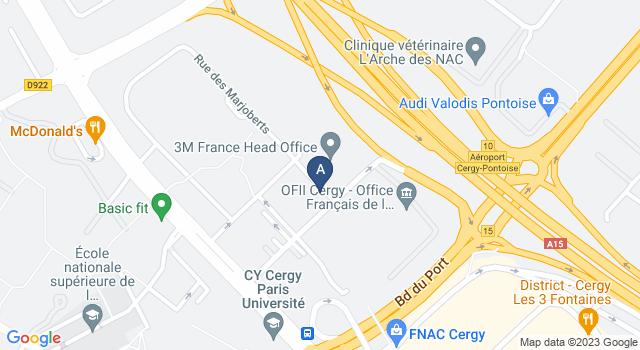 Centre de Test psychotechnique au Rue des Chauffours, 95000 Cergy