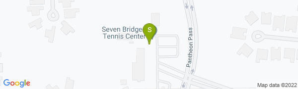 map for Seven Bridges Tennis