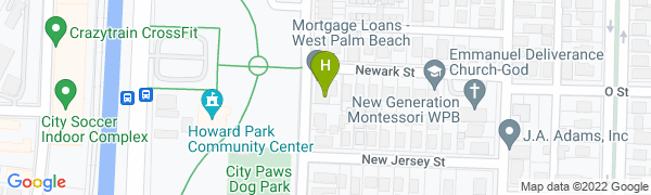map for Howard Park Tennis Center