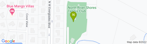 map for North River Shores Tennis