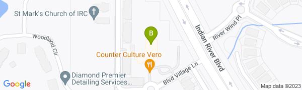 map for Boulevard Tennis Club