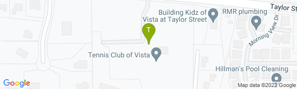 map for Tennis Club of Vista
