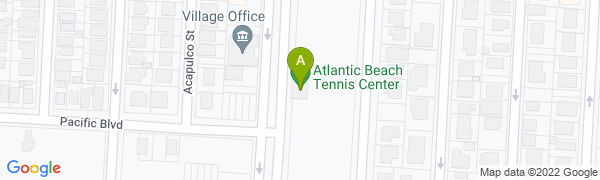 map for Atlantic Beach / Woodmere Club