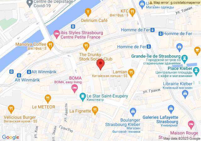 Карта направлений