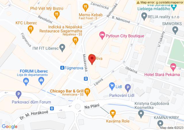 Mapa da localização