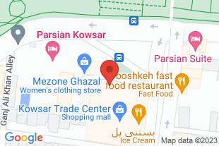 استخدام شرکت آوب در شهر اصفهان - موقعیت در نقشه