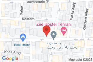 اجاره کلاس آموزشی در تهران - موقعیت در نقشه