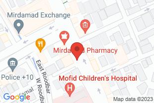 کلینیک روانپزشکی - موقعیت در نقشه