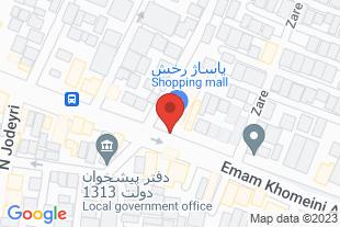 فروش سرقفلی مغازه - موقعیت در نقشه