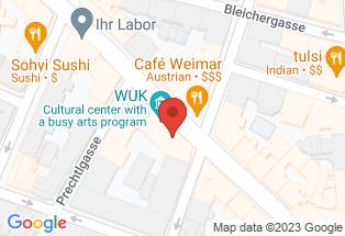Google map [48.223220,16.351531]