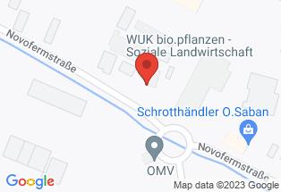 Google map [WUK+bio.pflanzen,+2230+Gänserndorf]