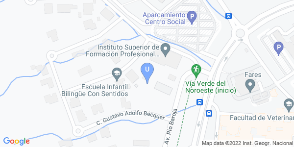 Localización del Edificio Rector Soler en Google Maps