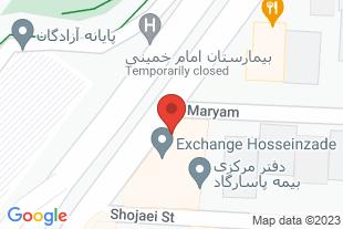 دفتر وکالت محمد کاظم شریفی - موقعیت در نقشه