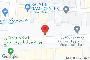 نمایندگی فروش کلاچ هوشمند و اتومات در استان اردبیل - موقعیت در نقشه