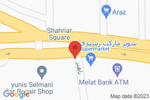 آپارتمان در مرند - موقعیت در نقشه