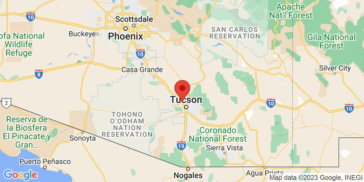 Southern Arizona Map