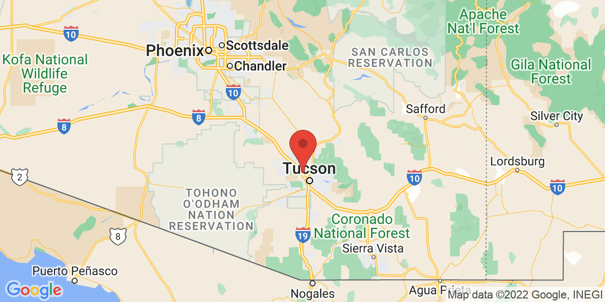 Southern Arizona Map