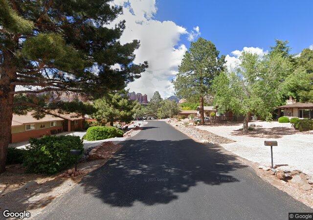 Quiet residential neighborhood