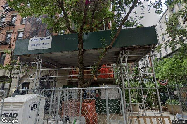 76 West 105th Street