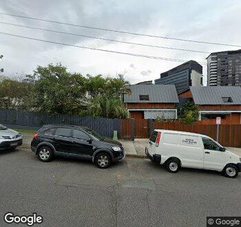 Streetview of 46 Dorchester St South Brisbane QLD 4101