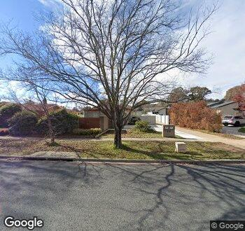 Streetview of 89 Canopus Crescent, Giralang, ACT