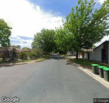 Streetview of 4 Durack Street, Downer, ACT
