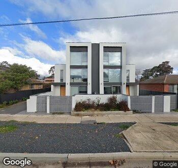 Streetview of 114 Macarthur Avenue, O'connor, ACT