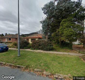 Streetview of 4 Higgins Crescent, Ainslie, ACT