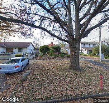 Streetview of 52 Booroondara Street, Reid, ACT