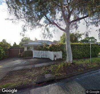 Streetview of 102 Carruthers Street, Curtin, ACT
