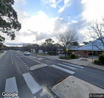 Streetview of 11 Namatjira Drive, Weston, ACT