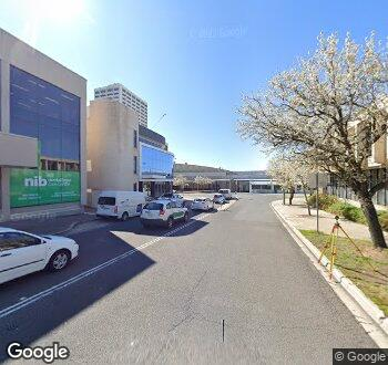 Streetview of 1 Brewer Street, Phillip, ACT