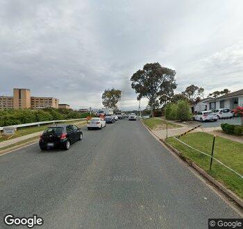 Streetview of Palmer Street, Garran, ACT