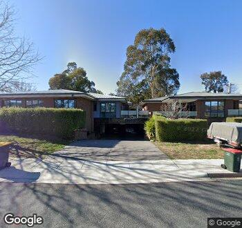 Streetview of 2 Laseron Place, Mawson, ACT