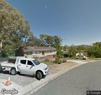 Streetview of 14 Pudney Street, Farrer, ACT