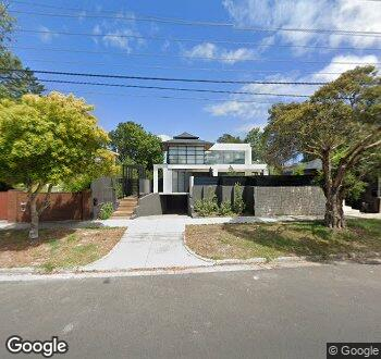Streetview of 103 Dalgetty Road, Beaumaris VIC 3193