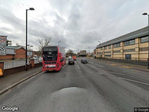 Humphrey Street as seen on Google Street View