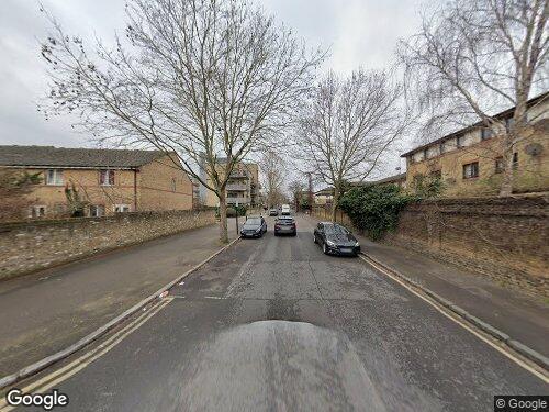 Rolls Road as seen on Google Street View
